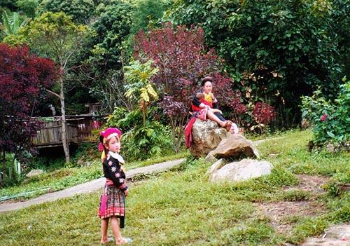 メオ族(モン族) メオ族(モン族) チェンマイ近郊 観光用メオ族の村にて チェンマイ近郊 観光用