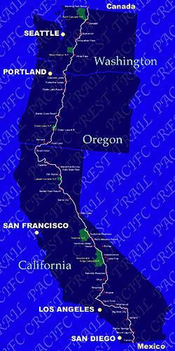 happy trail:Pacific Crest Tra...